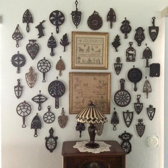 Antique Trivets & Samplers